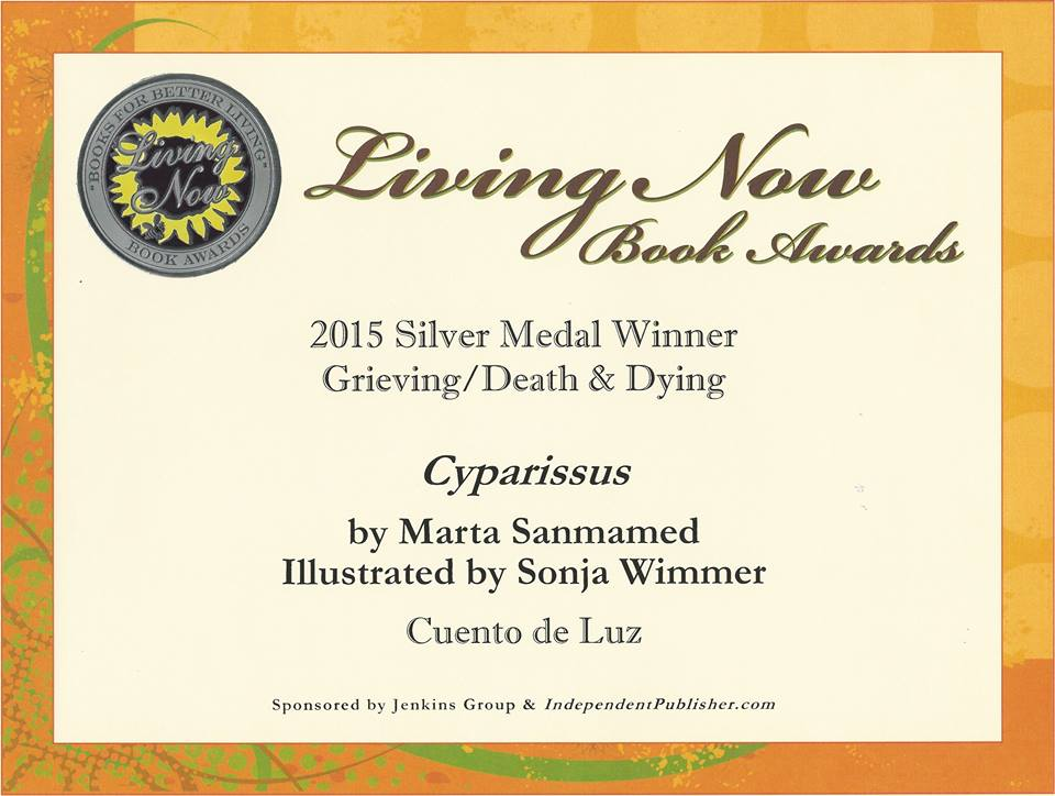 cipariso medalla plata living now book awards