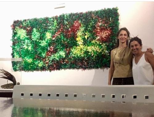 Creando arte a partir del residuo. Marta Sanmamed. Spain
