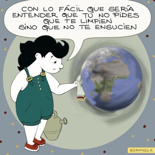 Magela, la heroína que lucha contra el cambio climático y el calentamiento global